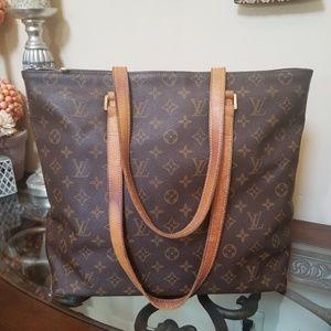 Authentic Louis Vuitton Cabas Mezzo LARGE BAG